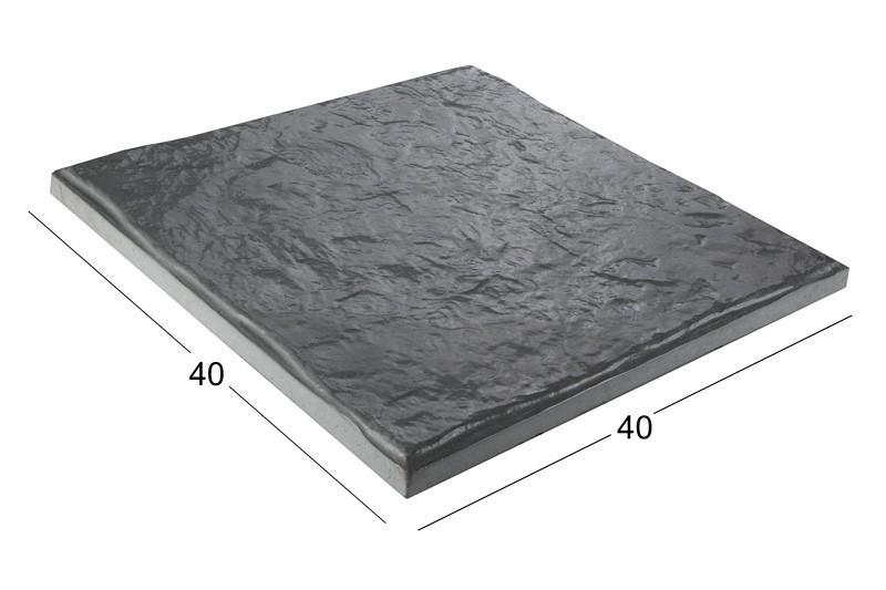 بتن اکسپوز کلاس B | سنگ فرش ۴۰x۴۰ cm بادبر