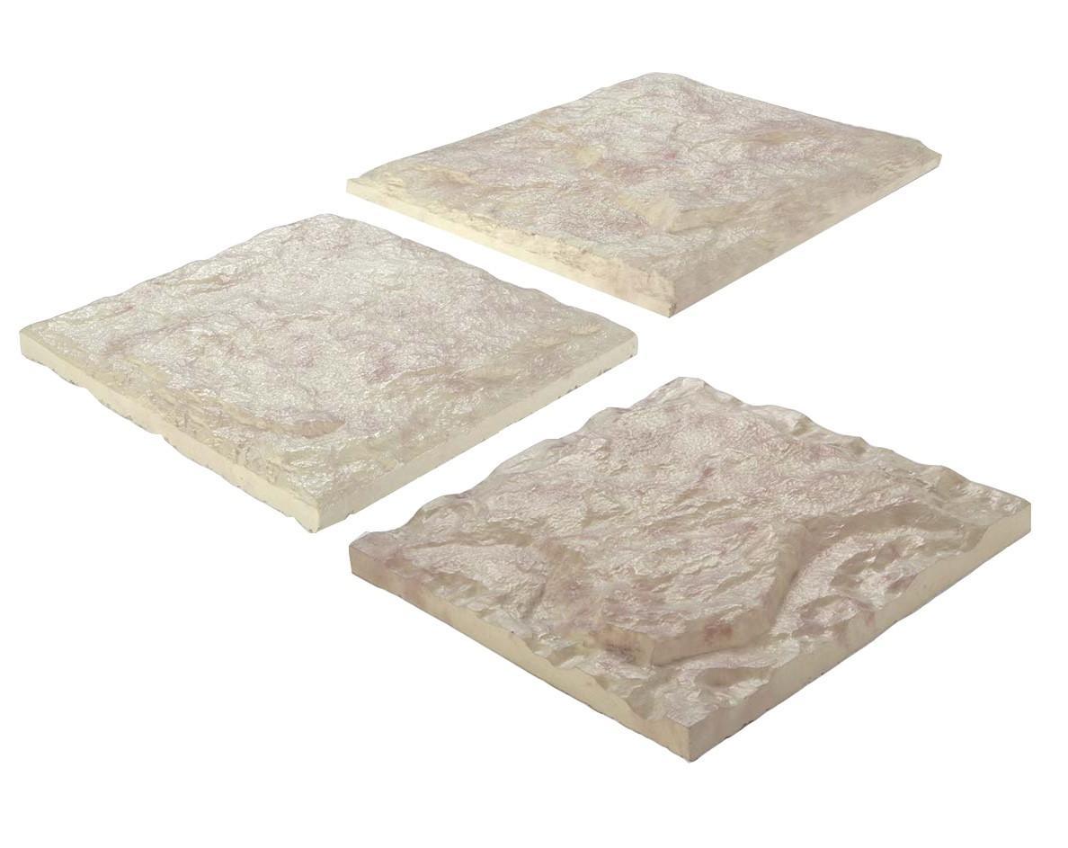 سنگ های بادبر ۳۰x۳۰- سنگ فرش