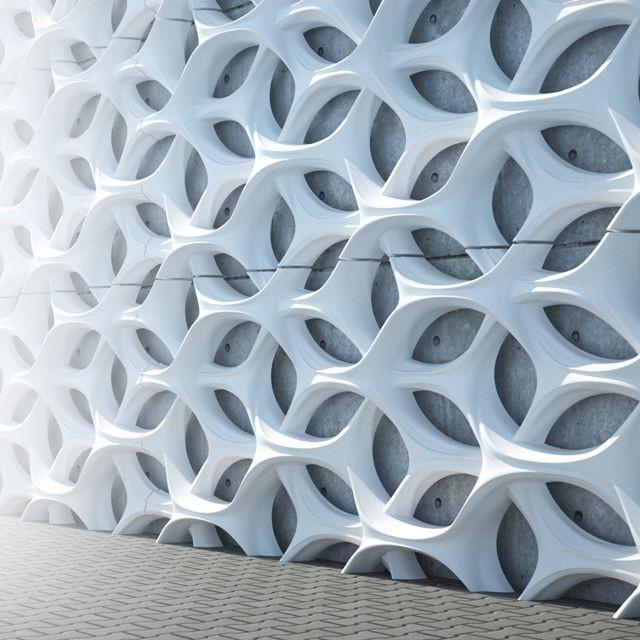 سازه های جی اف آر سی GFRC
