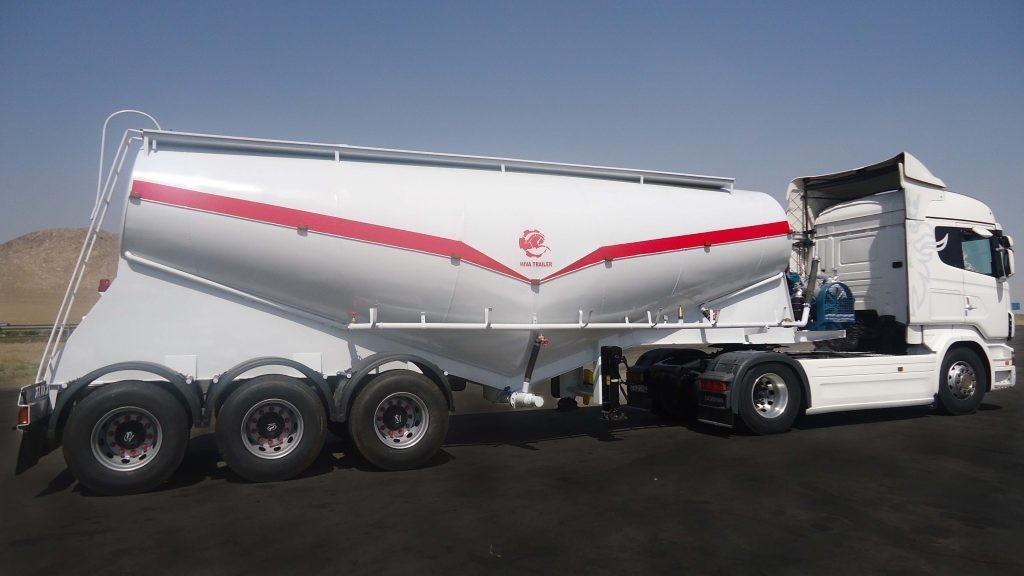 حمل و نقل سیمان فله ای با کامیون مخصوص