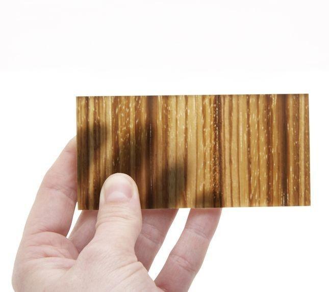 چوب شفاف از مصالح ساختمانی نوین