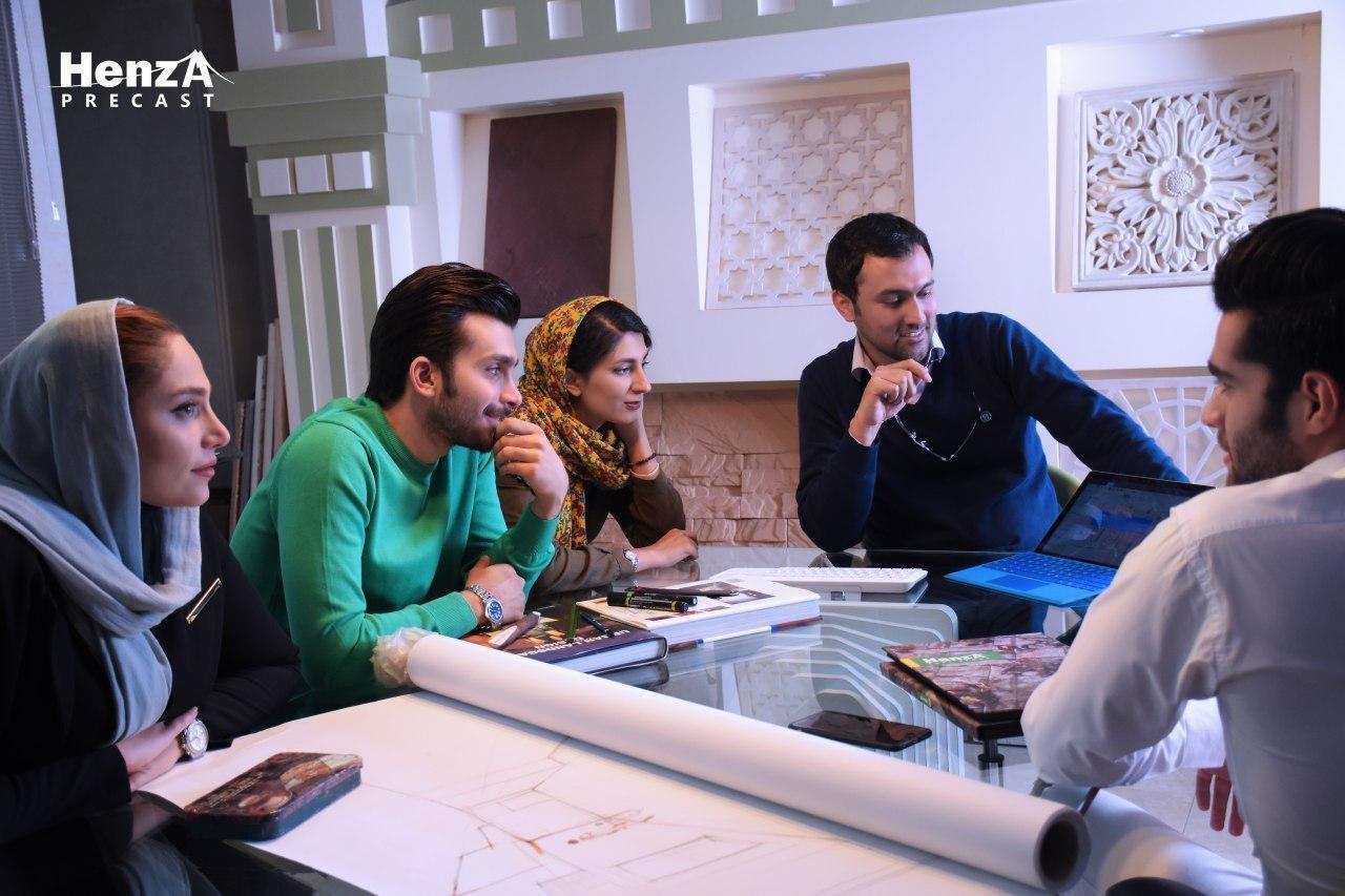 پیش اختلاط، روشی متنوع در تولید ایران GFRC/ ایران GRC