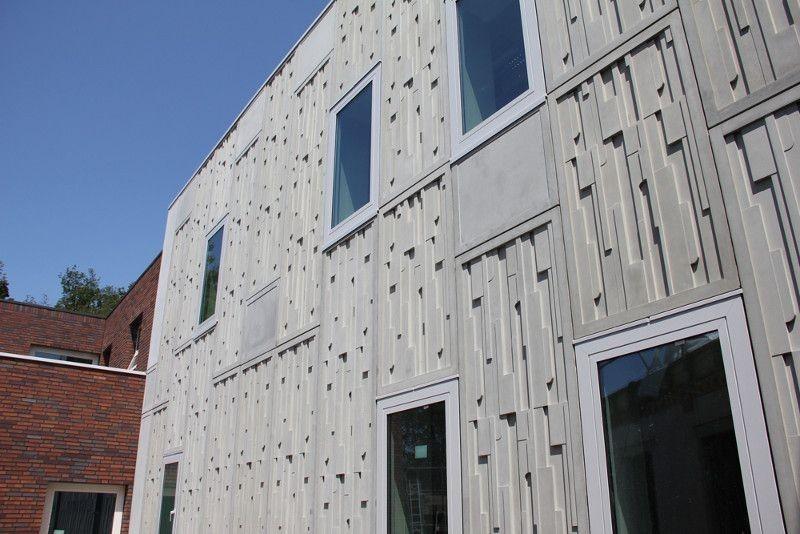 بتن الیافی باعث افزایش کیفیت ظاهری ساختمان می شود