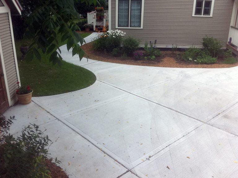 پیاده سازی سنگفرش بتنی / سنگ فرش بتنی