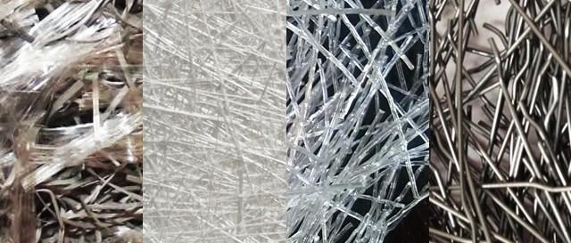 فیبرهای مصنوعی در ساخت بتن الیافی