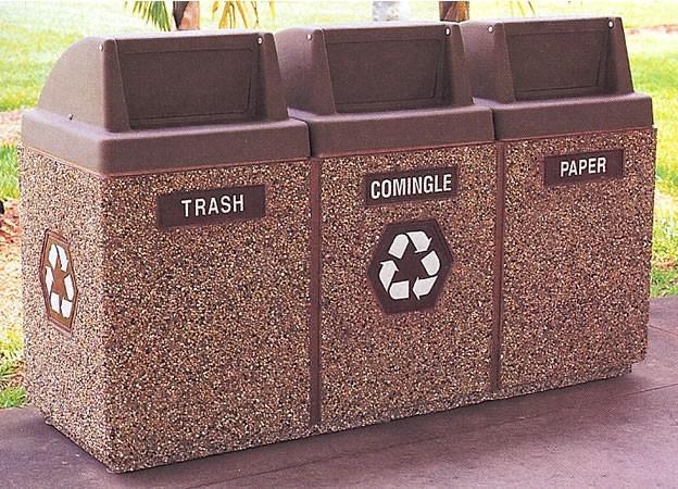 استفاده از مبلمان بتنی به عنوان زباله دان شهری چه مزایایی دارد؟