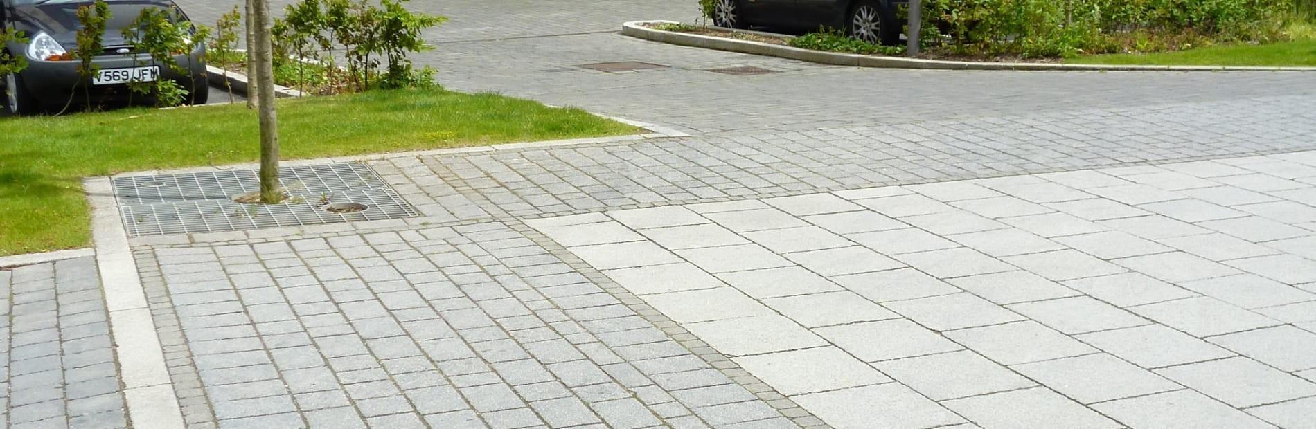 تنوع در ترکیب سنگفرش بتنی / سنگ فرش بتنی