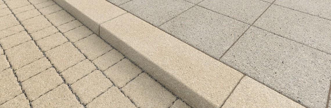 پنل های سنگفرش بتنی / سنگ فرش بتنی در سه اندازه