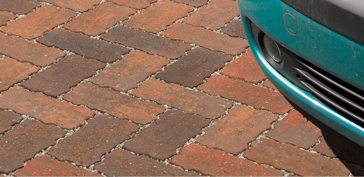 سنگفرش بتنی / سنگ فرش بتنی نفوذپذیر لبه مدادی