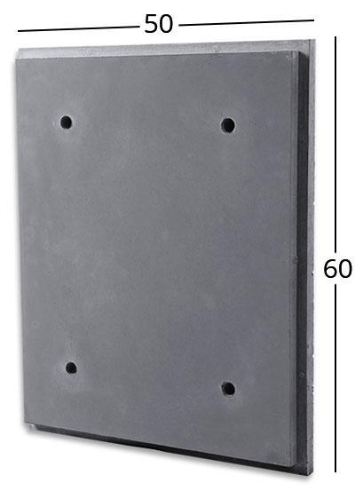 بتن اکسپوز کلاس B | نما ۴۰x۶۰ cm