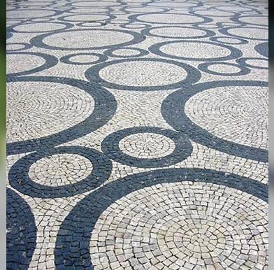 ابعاد و رنگ سنگفرش بتنی / سنگ فرش بتنی واش بتن